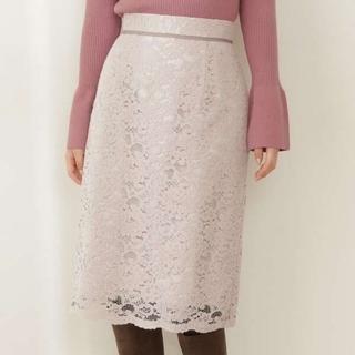 プロポーションボディドレッシング(PROPORTION BODY DRESSING)の【新品】PBD レースタイトスカート(ひざ丈スカート)