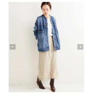 IENA - 【2019AW】 IENA パネルレースロングスカート◆  イエナ 38