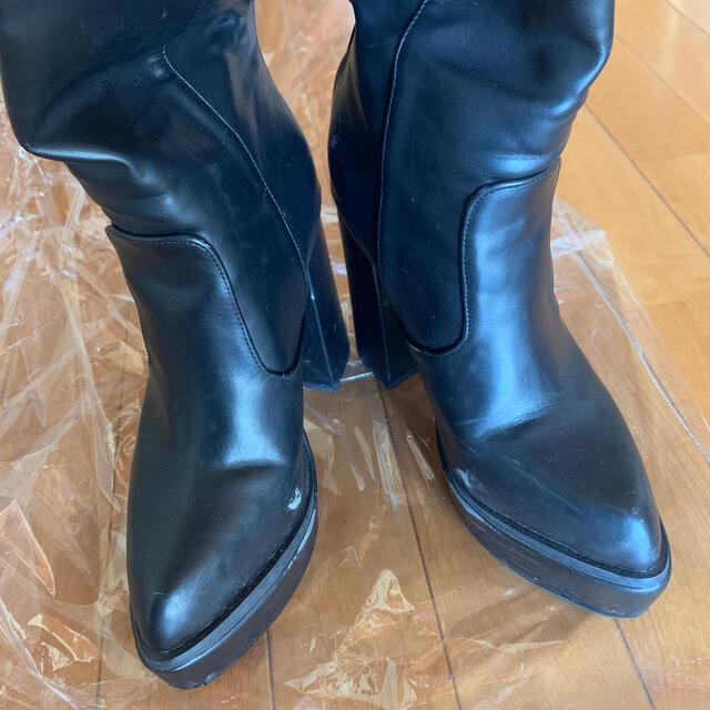 ENVYM(アンビー)のアンビー envymニーハイブーツ レディースの靴/シューズ(ブーツ)の商品写真