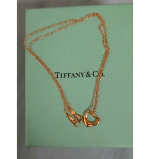 Tiffany & Co. - ティファニー オープンハート ネックレス