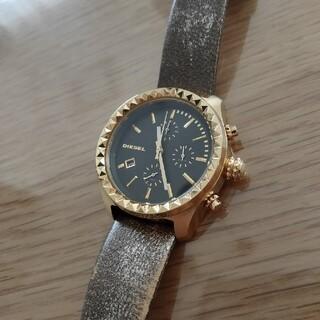 ディーゼル(DIESEL)のディーゼル 時計 メンズ ゴールド(腕時計(アナログ))