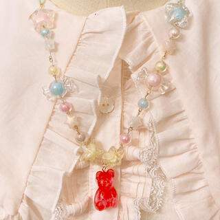 Angelic Pretty - ♡Candy  bear ネックレス♡
