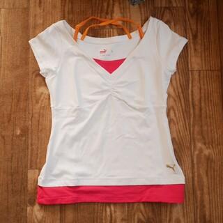 プーマ(PUMA)のPUMA レディース Tシャツ(Tシャツ(半袖/袖なし))