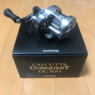 SHIMANO - 超美品 カルカッタコンクエストdc100 右巻き