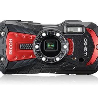 リコー(RICOH)の新品  未使用  RICOH WG-60 [レッド](コンパクトデジタルカメラ)
