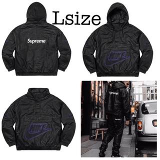 シュプリーム(Supreme)のsupreme®×nike®19FW Leather Anorak 国内正規品(レザージャケット)