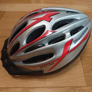ブリヂストン(BRIDGESTONE)のブリジストン 子供ヘルメット美品 L 56~60cm(ヘルメット/シールド)