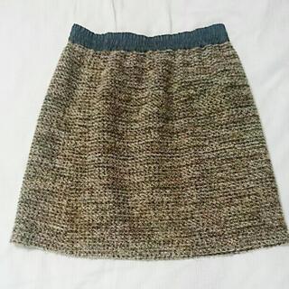 プロポーションボディドレッシング(PROPORTION BODY DRESSING)のPROPOTION BODY DRESSING ツイード スカート(ミニスカート)