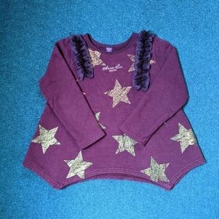 アナスイミニ(ANNA SUI mini)のアナスイミニ 130 紫トレーナー(Tシャツ/カットソー)