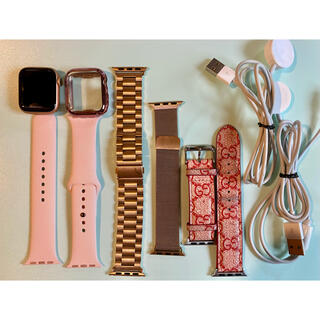 Apple Watch - 美品 Apple Watch series4 GPSモデル 40ミリ 付属品7点