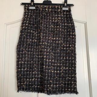 DOLCE&GABBANA - DOLCE&GABBANA*ツイードタイトスカート