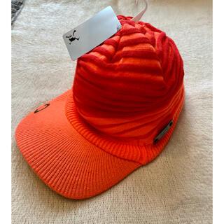 オークリー(Oakley)の送料込★オークリー ツバ付きニット帽(ニット帽/ビーニー)