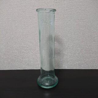 大振り 花瓶★フラワーベース★シンプル デザイン★ガラス製(花瓶)