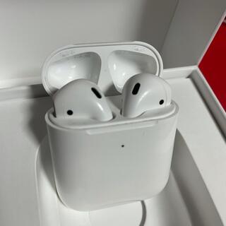 アップル(Apple)の✨正規品 Apple AirPods 第2世代 送料無料(ヘッドフォン/イヤフォン)