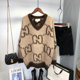 Gucci - Gucci グッチ 丸首 ニットセーター M