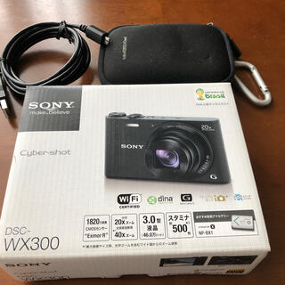 SONY - SONY Cyber-shot DSC-WX300