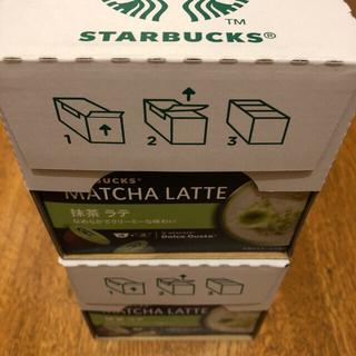 Starbucks Coffee - ネスカフェ・ドルチェグスト専用カプセルスターバックス抹茶ラテ12P×6箱