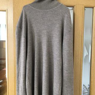 ムジルシリョウヒン(MUJI (無印良品))のタートル ニット セーター 無印(ニット/セーター)