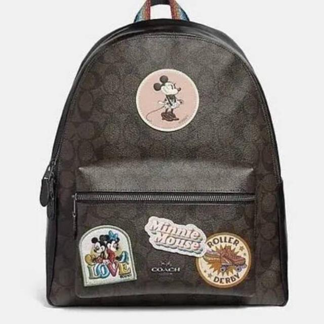 COACH(コーチ)の即購入OK☆大人気☆新品未使用☆コーチ☆リュック☆ディズニー☆ミッキー☆ミニー☆ レディースのバッグ(リュック/バックパック)の商品写真