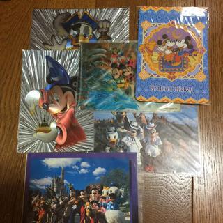 ディズニー(Disney)のディズニー ハガキ ポストカード 6枚(使用済み切手/官製はがき)