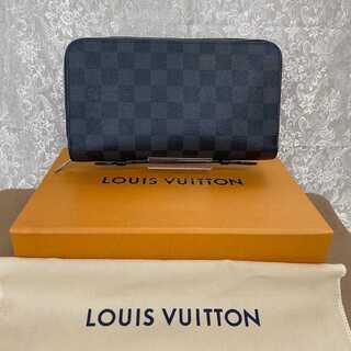 LOUIS VUITTON - 極美品✨ルイヴィトンジッピーXLダミエ・グラフィットトラベルウォレット