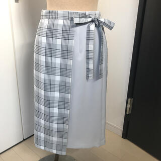 クイーンズコート(QUEENS COURT)のクイーンズコート スカート QUEENS COURT(ひざ丈スカート)