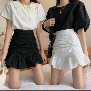dholic - シャーリング スカート