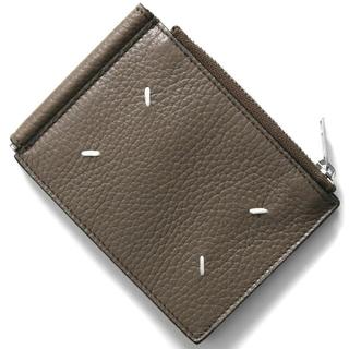 マルタンマルジェラ(Maison Martin Margiela)の新品 メゾンマルジェラ マネークリップ 二つ折り財布 レアカラー トープグレー(折り財布)