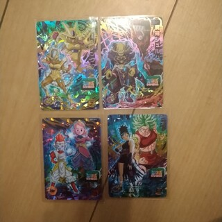 ドラゴンボール - ドラゴンボールヒーローズ bm5弾 CP4枚
