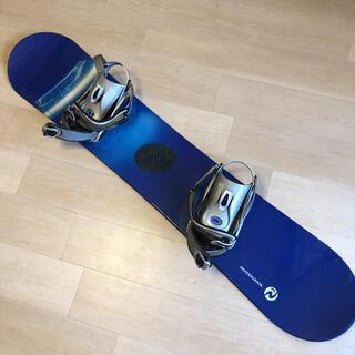 スノーボード板、ビンディング付き(ボード)