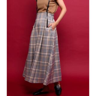 アントマリーズ(Aunt Marie's)のAUNT MARIE'S ハイウエストサスペンダーロングスカート(ロングスカート)