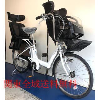ブリヂストン アンジェリーノ 26インチ 3人乗り 8.9ah 電動自転車(自転車本体)
