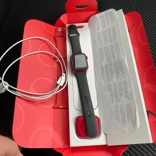 Apple Watch series6 セルラー 44m red(腕時計(デジタル))