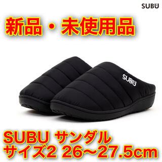 SUBU スブ 冬用サンダル