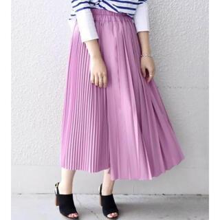 シップス(SHIPS)のシップスKhaju12,100円アシンメトリープリーツスカート(ロングスカート)