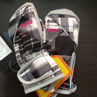 新品未使用 nima キッズ手袋 ミトン スキーグローブ スノーグローブ 110