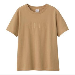 GU - 【未使用】GU ELLE Tシャツ タグ付き ジーユー 人気 SNS
