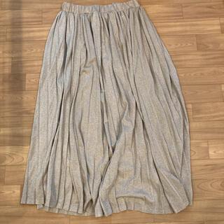 オペークドットクリップ(OPAQUE.CLIP)のロングプリーツスカート(ロングスカート)
