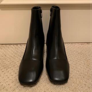 バブルス(Bubbles)のepine square toe khitōn heal short boots(ブーツ)