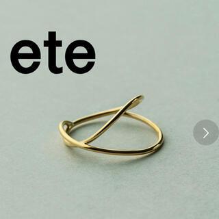 エテ(ete)のete リング K18(リング(指輪))