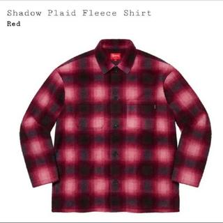 Supreme - Supreme Shadow Plaid Fleece Shirt 2020aw
