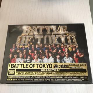 エグザイル トライブ(EXILE TRIBE)のBATTLE OF TOKYO~ENTER THE Jr.EXILE~(ミュージック)