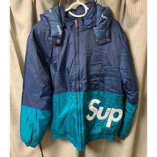 シュプリーム(Supreme)のsupreme sideline logo parka jacket Lサイズ(ダウンジャケット)