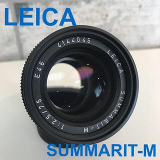 ライカ(LEICA)の【新品 格安 保証書付き】ライカ ズマリットM 1:2.5/75㎜ レンズ(レンズ(単焦点))