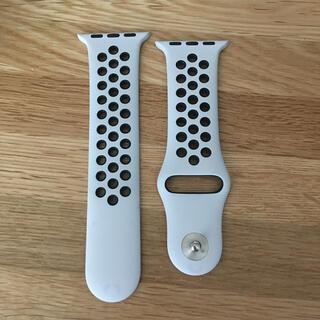アップルウォッチ(Apple Watch)のアップルウォッチ NIKE 純正ベルト(ラバーベルト)
