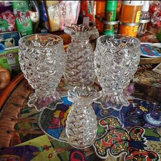 インストゥルメンタル パイナップルグラス 4個セット(グラス/カップ)