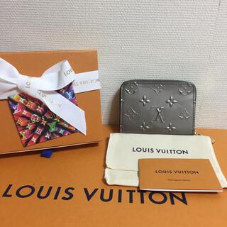 LOUIS VUITTON - 新品LOUIS VUITTONジッピーコインパースヴェルニシャンパーニュメタリゼ