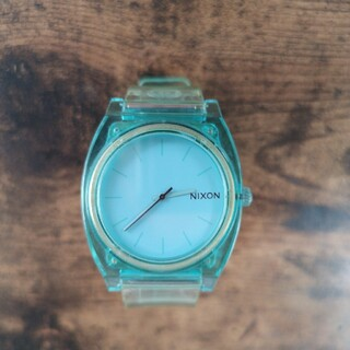 ニクソン(NIXON)のNIXON TIME TELLER P [TRANSLUCENT MINT](腕時計(アナログ))