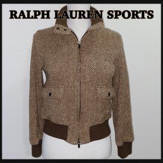 ラルフローレン(Ralph Lauren)のRALPH LAUREN sport スタンドカラー ウールジャケット(ブルゾン)