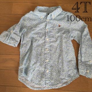 ラルフローレン(Ralph Lauren)のラルフ 花柄ブラウス 100cm(Tシャツ/カットソー)